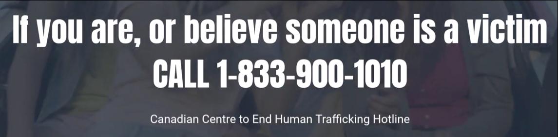 #KnowHumanTrafficking