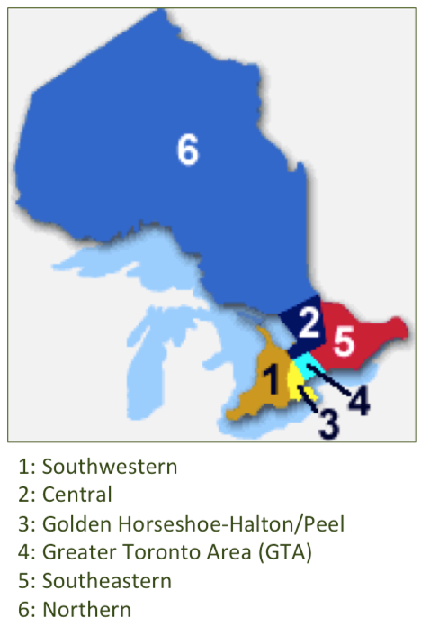 BPW Ontario Districts